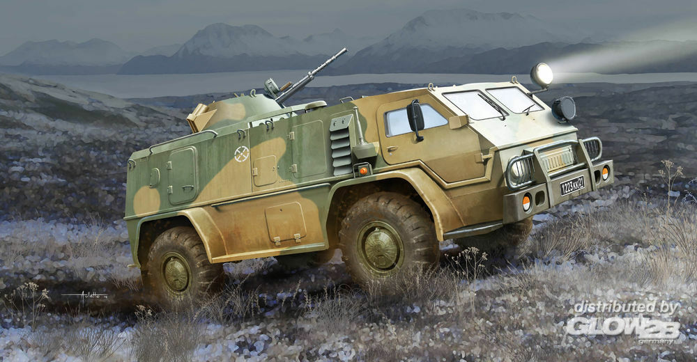Trumpeter 05594 Russian GAZ39371 High-Mobility Multipurp in 1:35