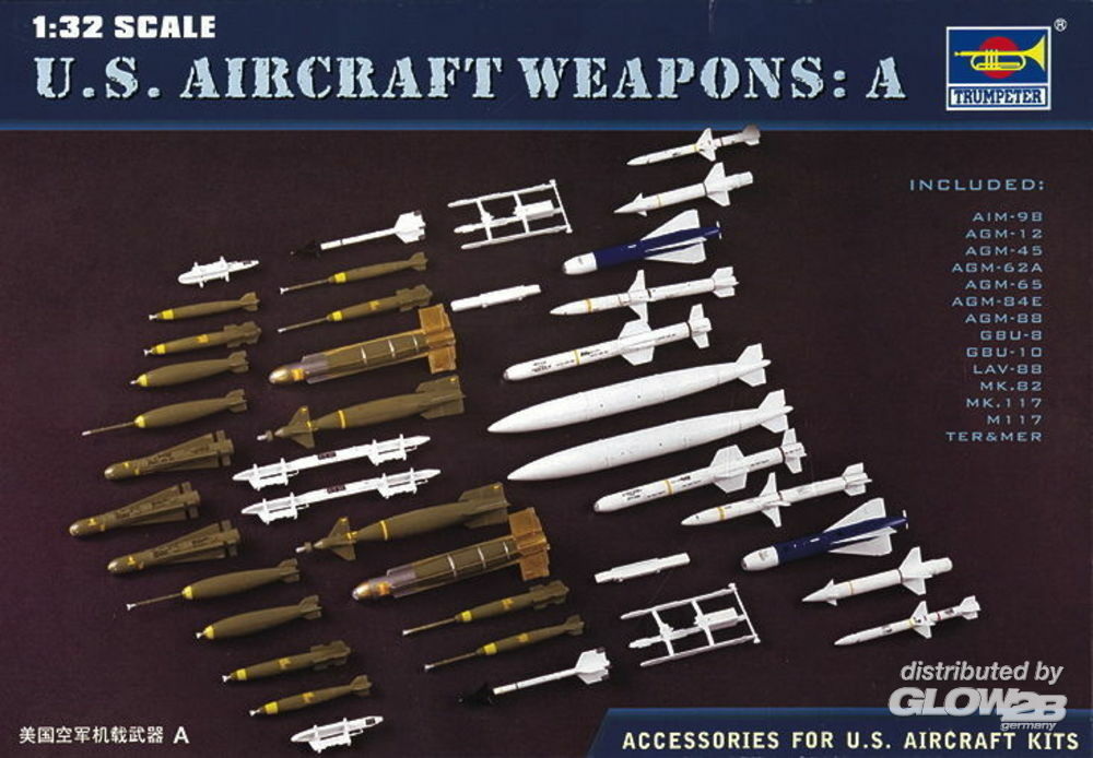 Trumpeter 03302 US Aircraft Weapons I in 1:32