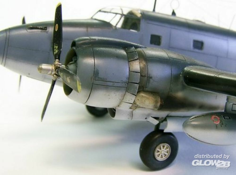 Plus model AL7005 Engines cowling for Ventura in 1:72
