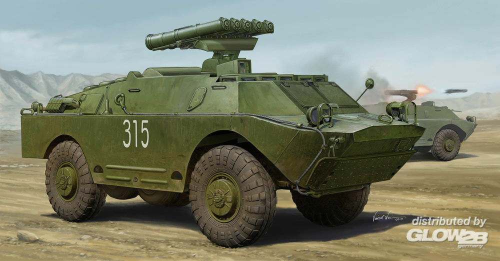 Trumpeter 05515 Russian 9P148 in 1:35