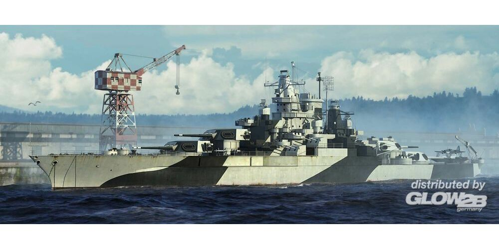Trumpeter 05782 USS Tennessee BB-43 1944 in 1:700
