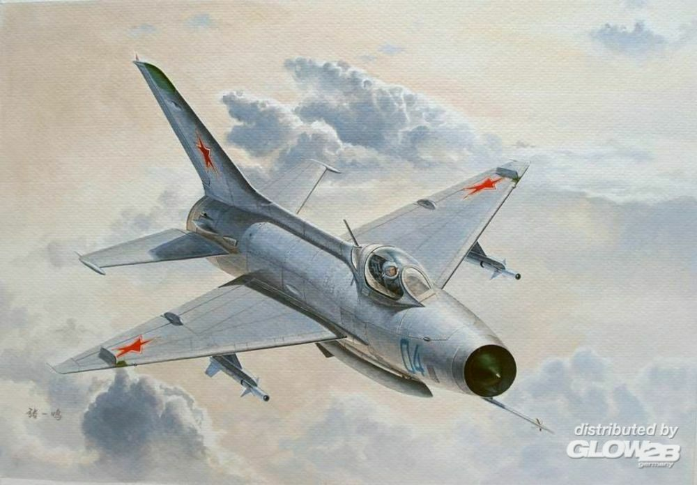 Trumpeter 02858 MiG-21 F-13/J-7 Fighter in 1:48