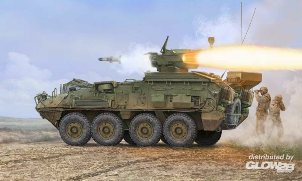 Trumpeter 01558 LAV III TUA (Tower-Under-Armour) in 1:35