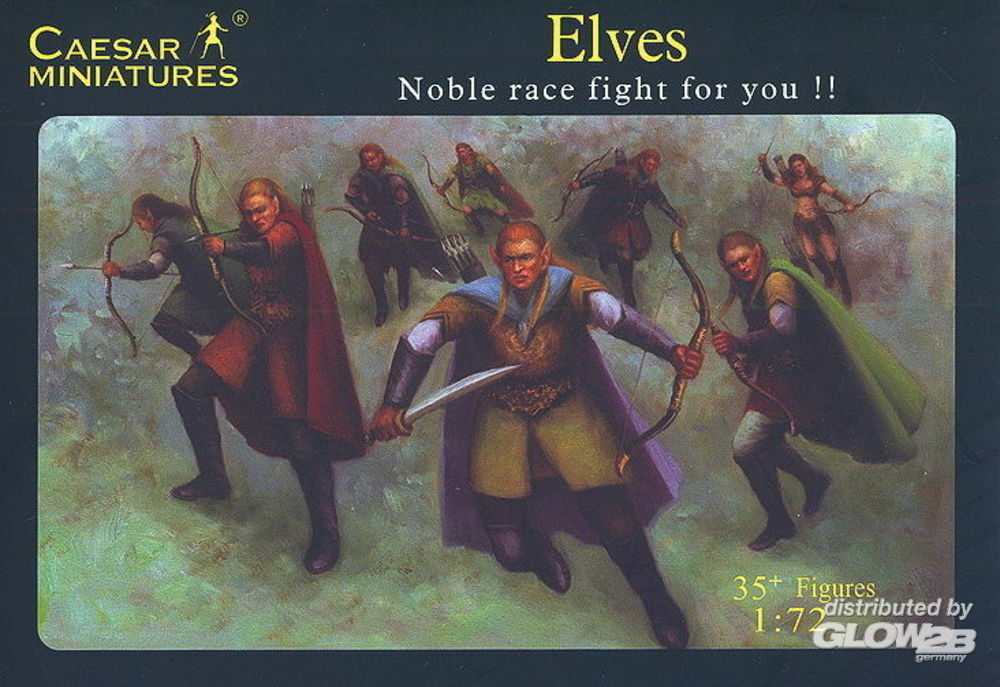 Caesar Miniatures F102 Elves Noble race fight for you!! in 1:72