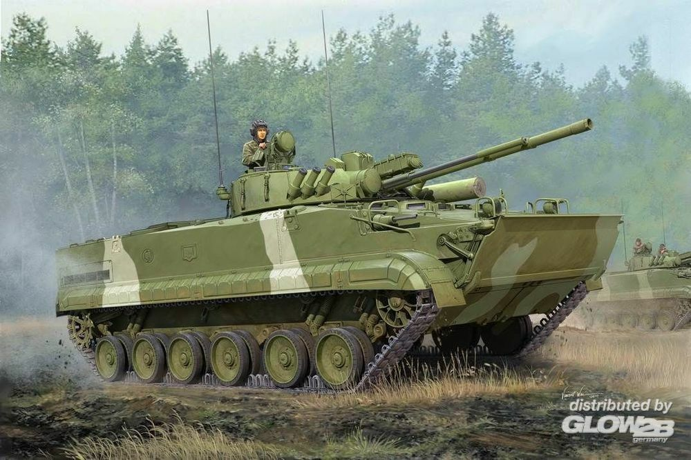 Trumpeter 01528 BMP-3 IFV in 1:35