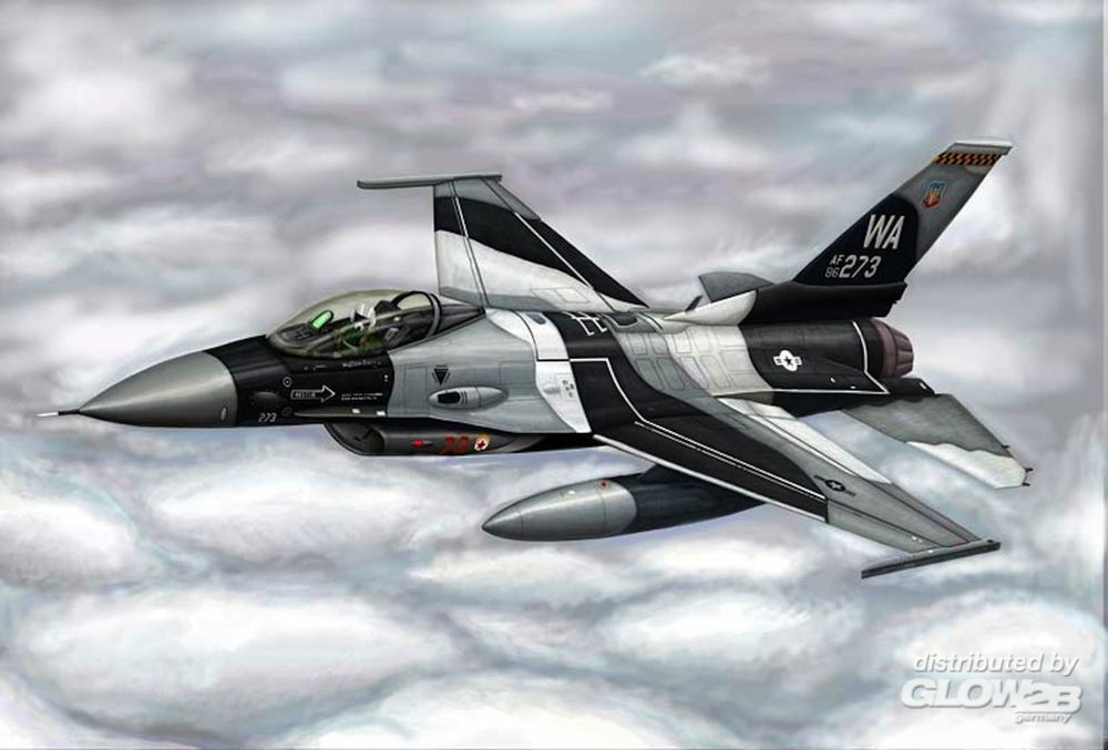 Trumpeter 03911 F-16A/C Fighting Falcon Block 15/30/32 in 1:144
