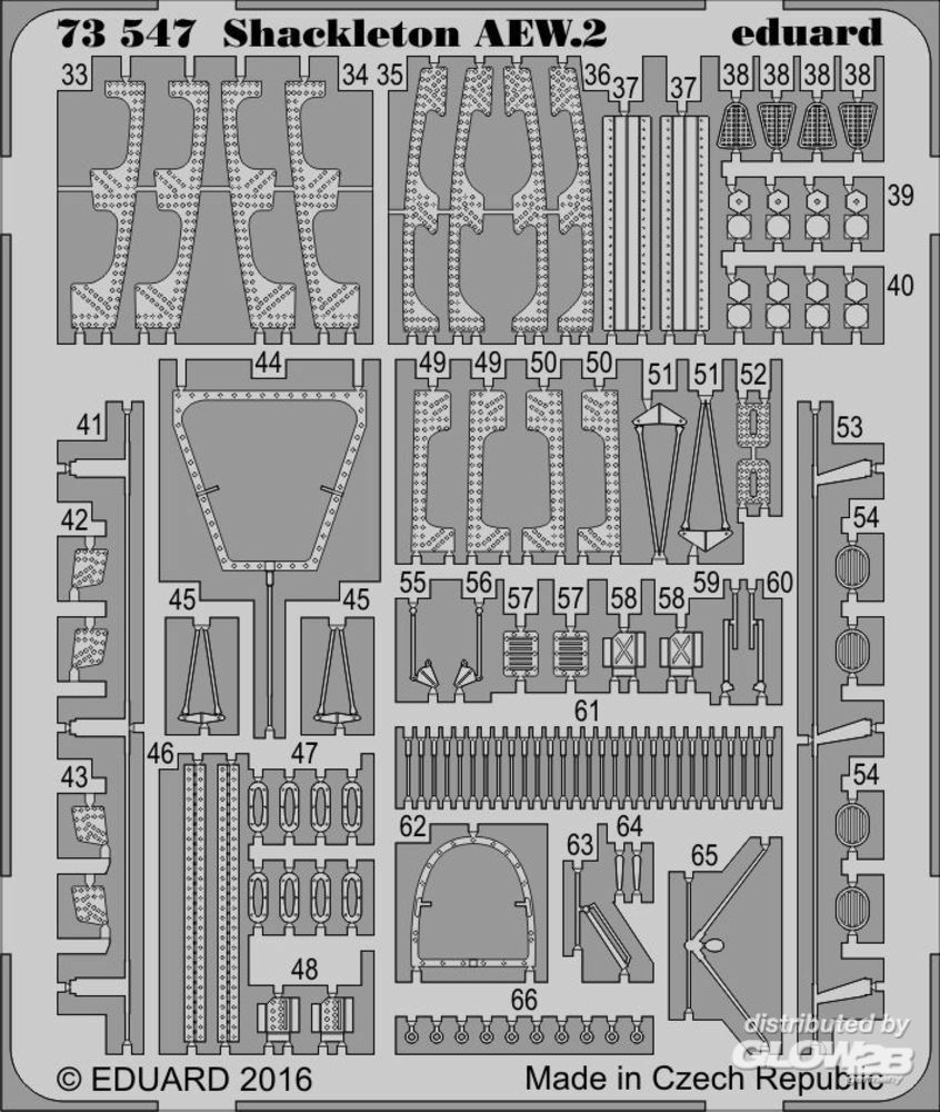 Eduard Accessories 73547 Shacleton AEW.2 for Revell in 1:72