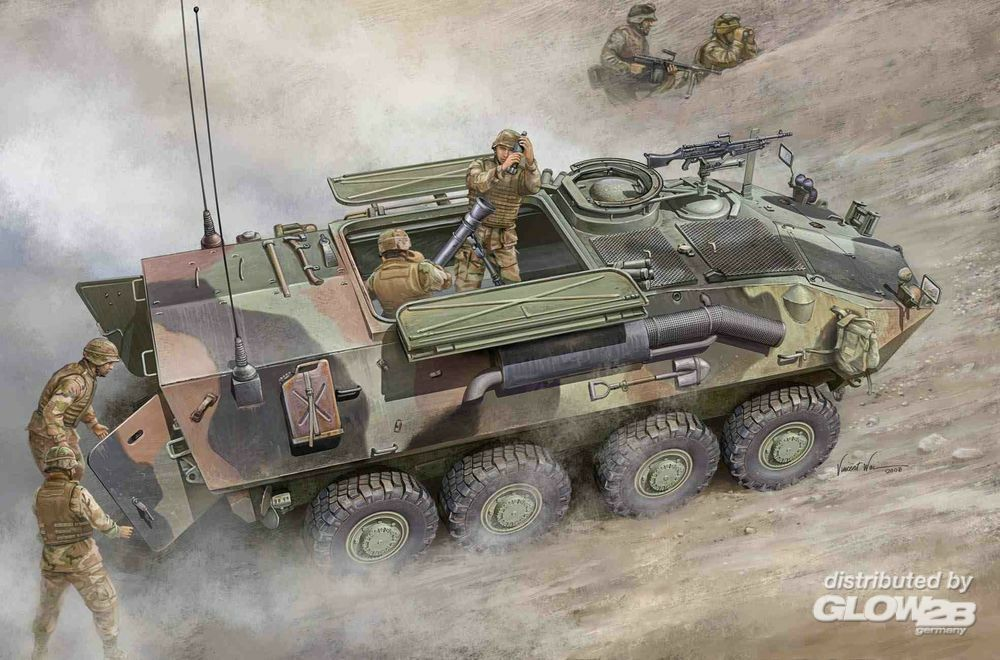 Trumpeter 00391 LAV-M (Mortar Carrier Vehicle) in 1:35