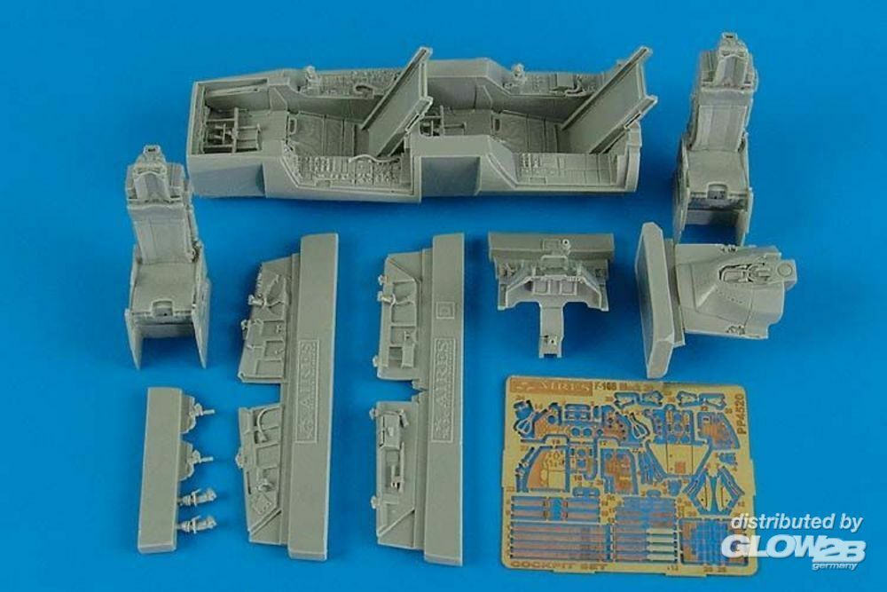 Aires 4520 F-16B Fighting Falcon cockpit set (KIN) in 1:48