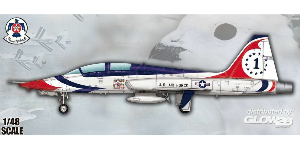 Trumpeter 05809 US T-38A Talon-Thunderbird in 1:48