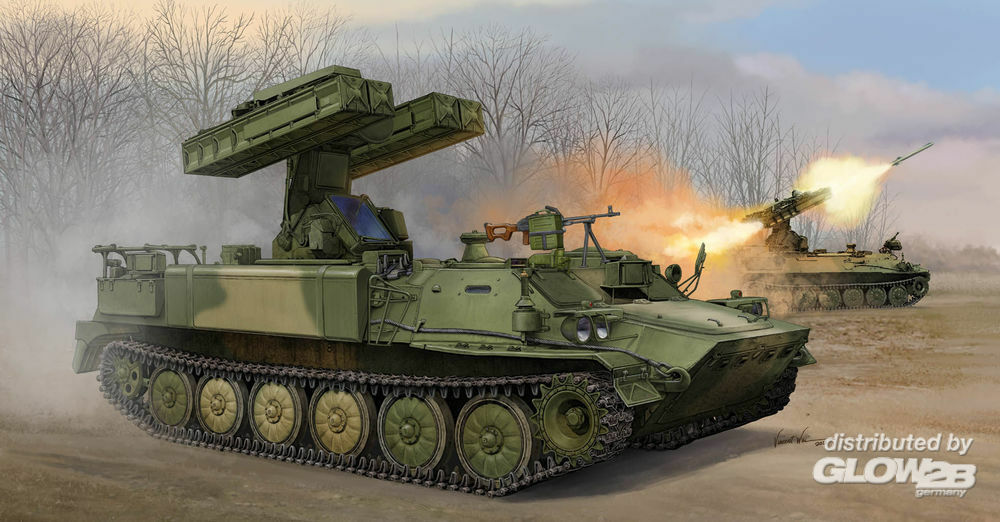 Trumpeter 05554 Russian SA-13 GOPHER in 1:35
