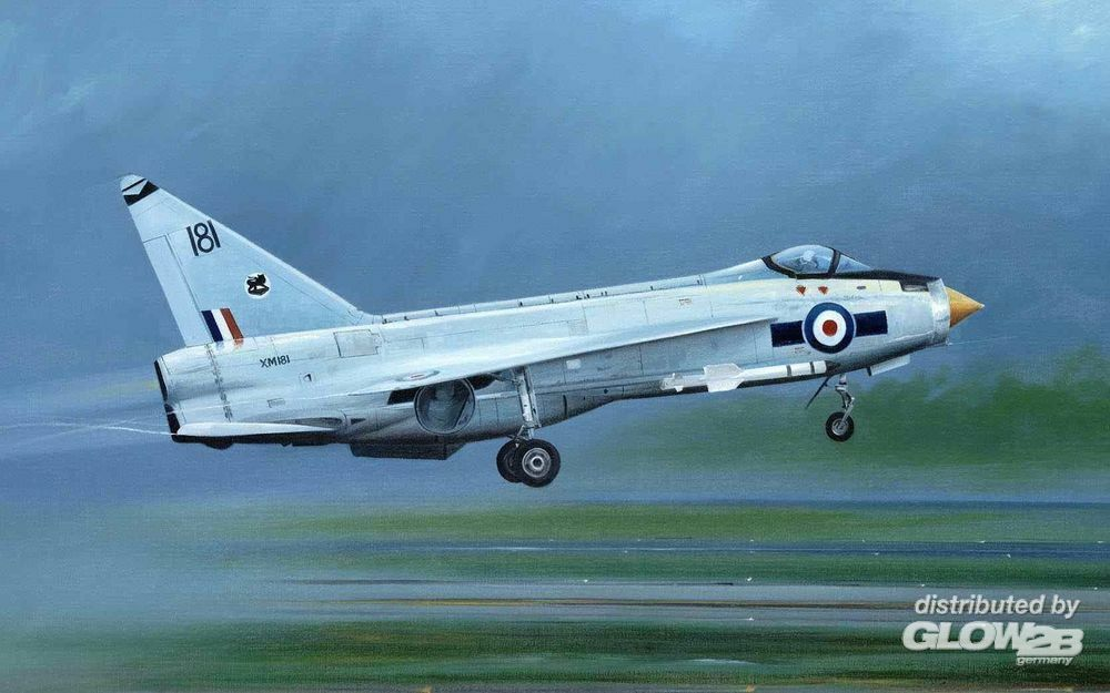 Trumpeter 01634 English Electric Lightning F.1A/F.2 in 1:72