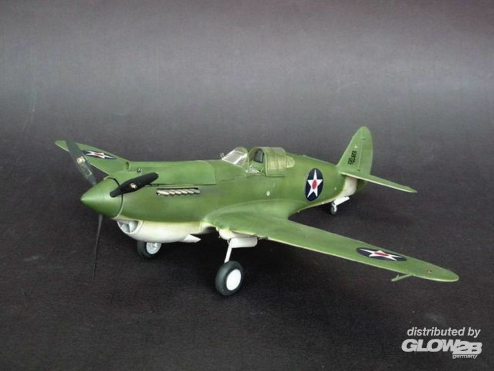 Trumpeter 02228 Curtiss P-40B Warhawk in 1:32