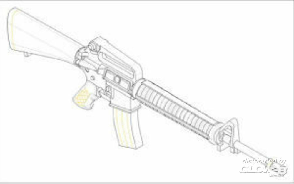 Trumpeter 00502 AR15/M16/M4 FAMILY-M16A2 (6 units)