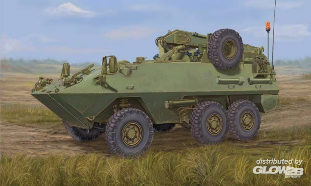 Trumpeter 01506 Canadian Husky 6x6 APC (Improved Version in 1:35