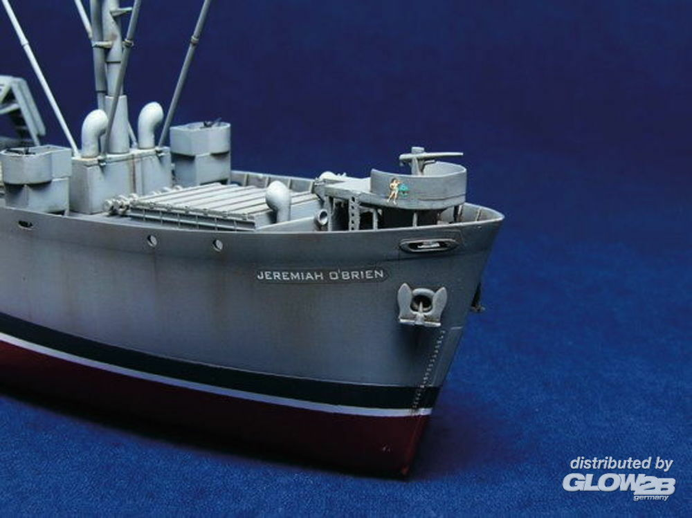Trumpeter 05301 S.S. Jeremiah O`Brien Liberty Ship in 1:350