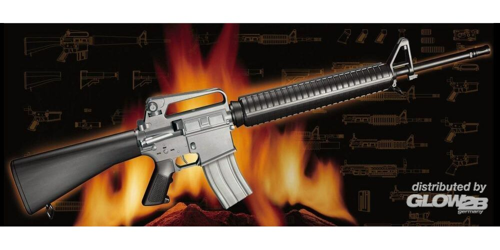 Trumpeter 01907 AR15/M16/M4 Family-M16A2 in 1:3