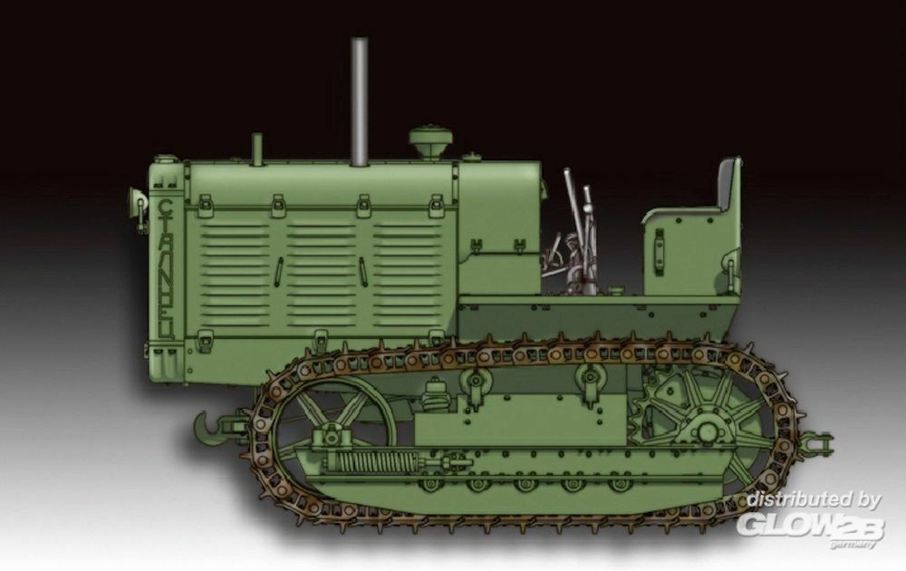 Trumpeter 07112 Russian ChTZ S-65 Tractor in 1:72