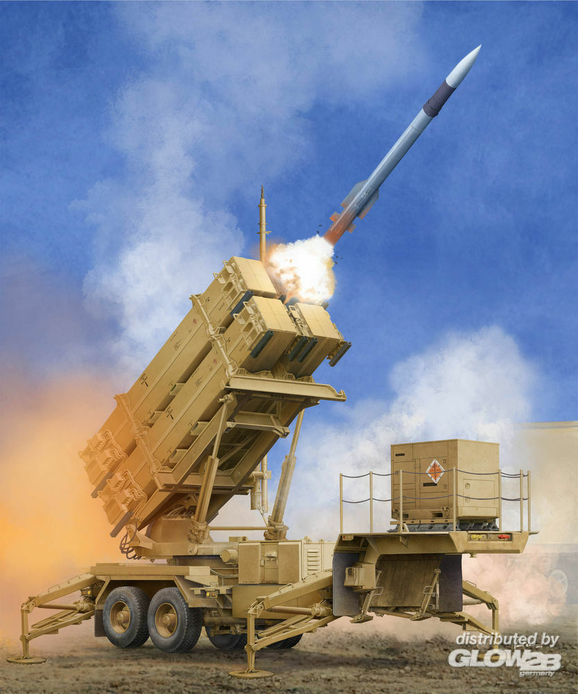 Trumpeter 01040 US M901 Launching Station w/MIM-104F Patriot SAM System (PAC-3) in 1:35