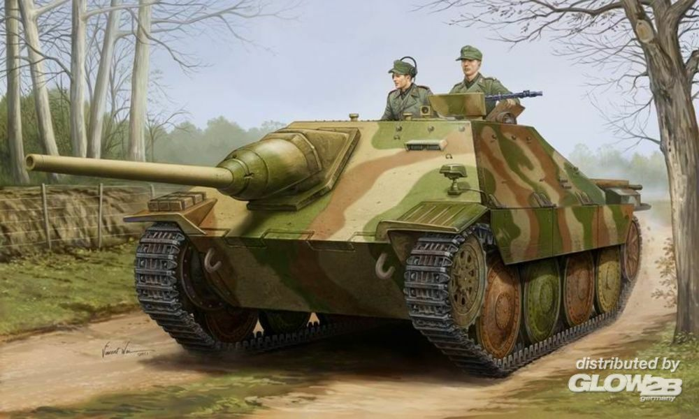 Trumpeter 05524 German Jagdpanzer 38(t) STARR in 1:35