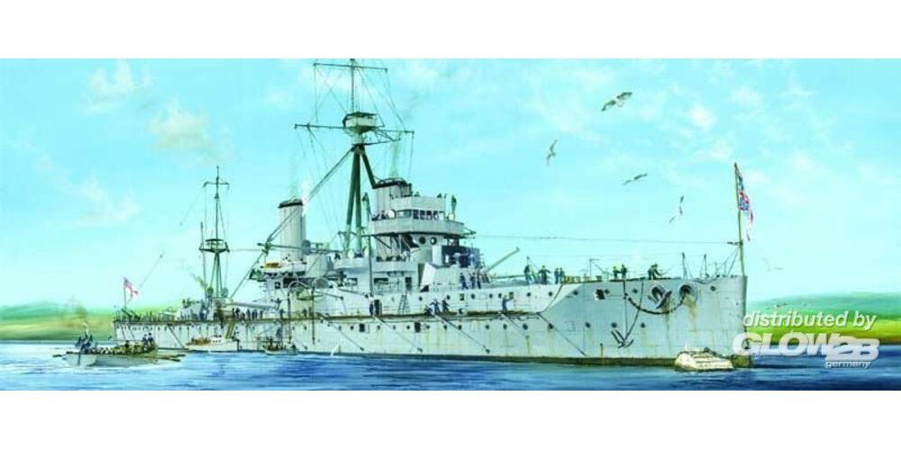 Trumpeter 05329 HMS Dreadnought 1915 in 1:350