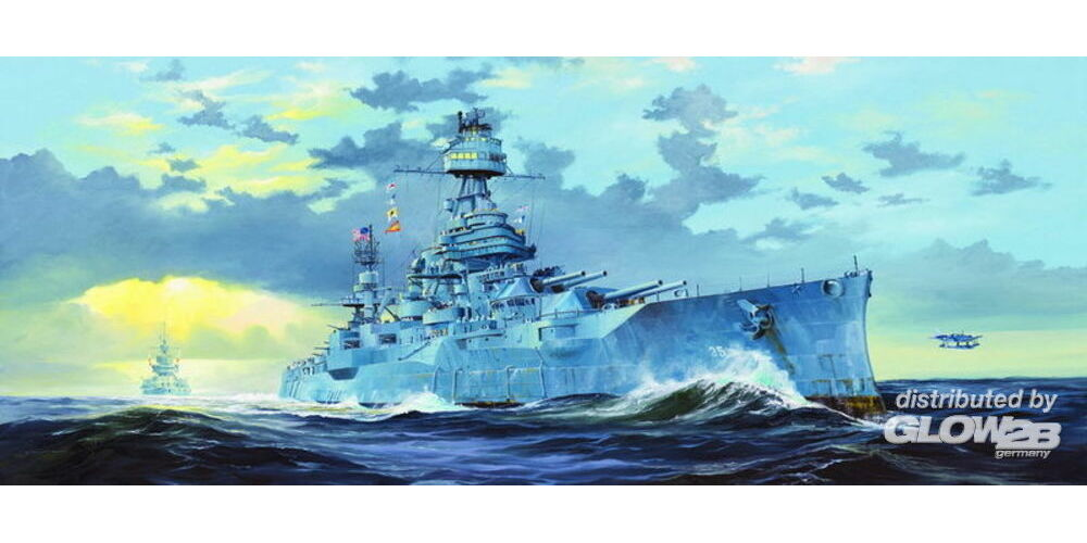 Trumpeter 05340 USS New Texas BB-35 in 1:350