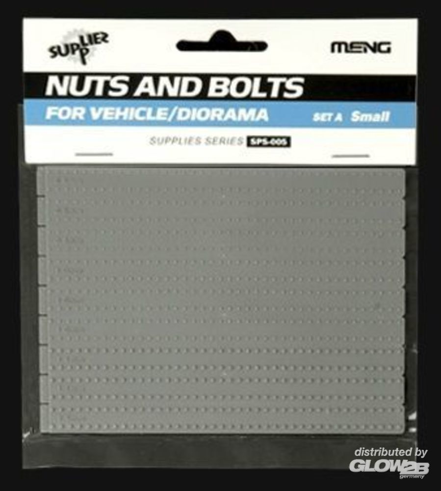 MENG-Model SPS-005 Nuts and Bolts SET A (small) in 1:35