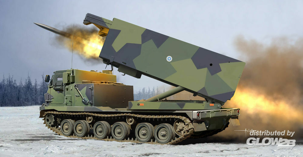Trumpeter 01047 M270/A1 Multiple Launch Rocket System- Finland/Netherlands in 1:35