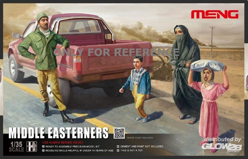 MENG-Model HS-001 Middle Easterns in the Street in 1:35