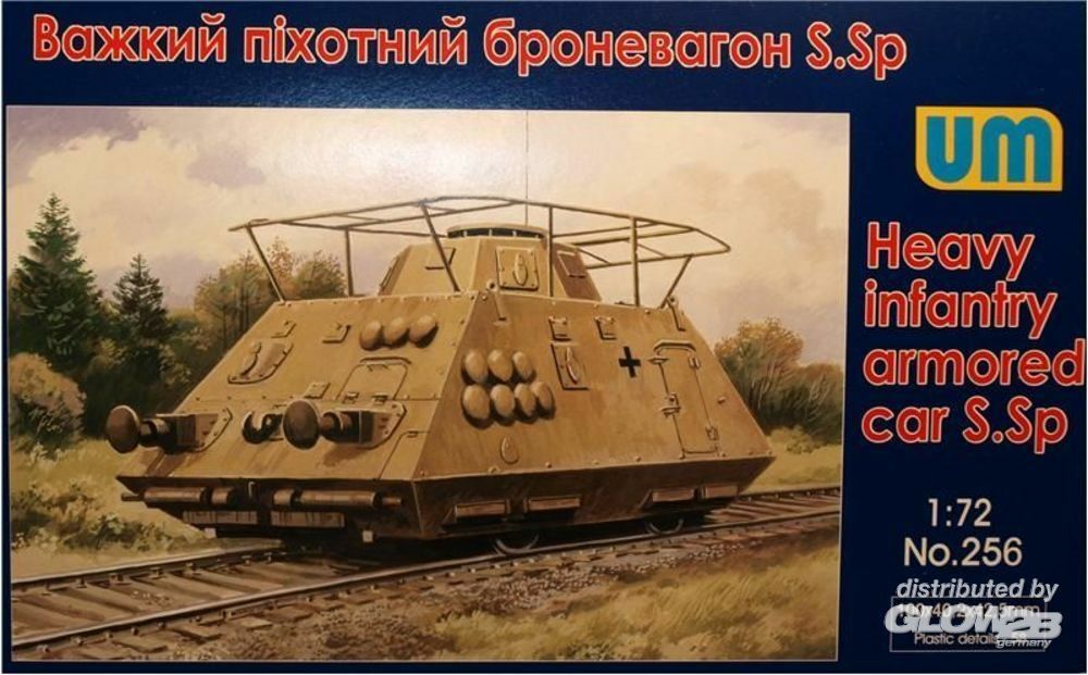 Unimodels UM256 Heavy infantry armored car S.Sp in 1:72