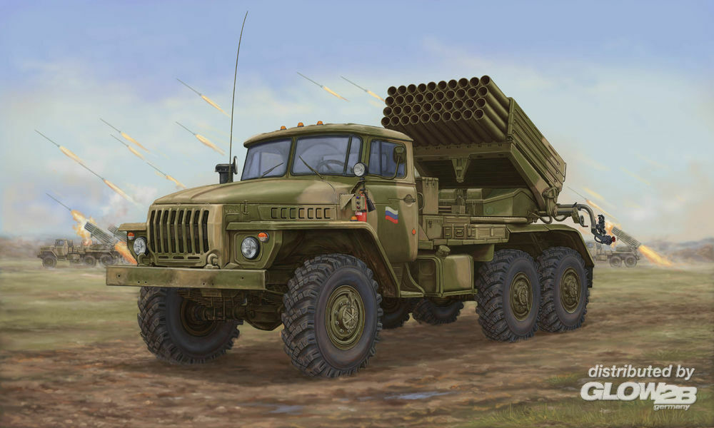 Trumpeter 01014 Russian BM-21 Hail MRL-Late in 1:35