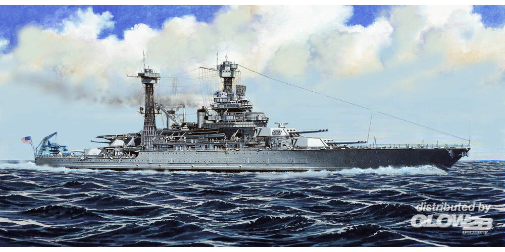 Trumpeter 05783 USS California BB-44 1941 in 1:700