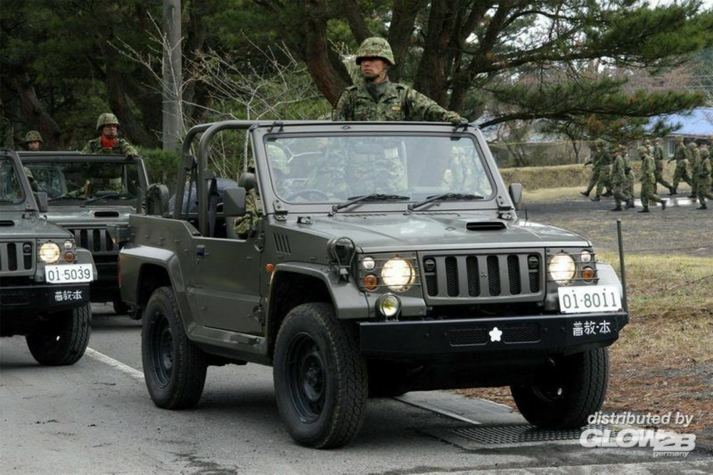 Trumpeter 05520 Japanese type 73 Jeep - New type in 1:35