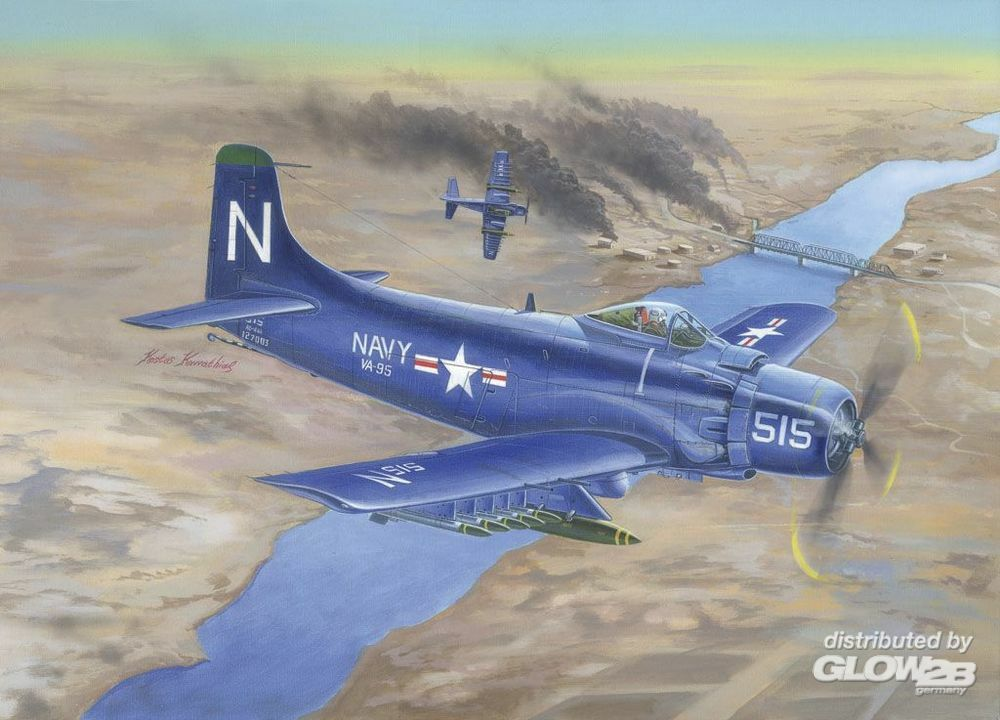Trumpeter 02252 A-1D AD-4 Skyraider in 1:32