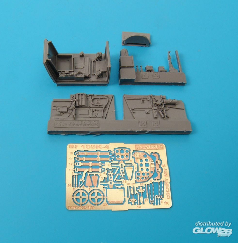 Aires 4248 Bf 109K-4 Cockpit Set in 1:48