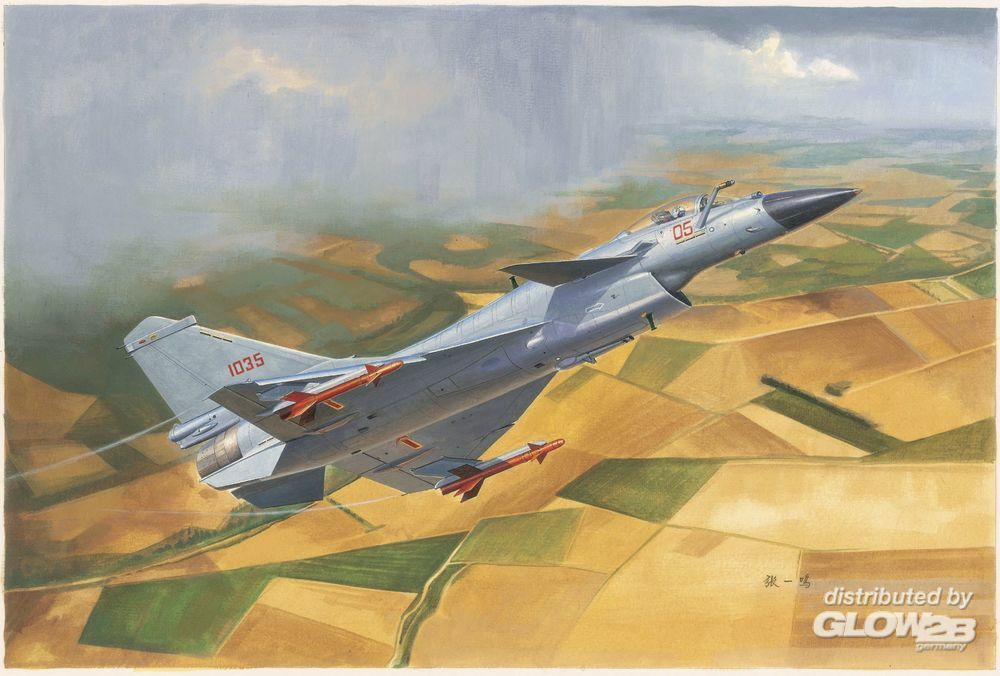 Trumpeter 01651 Chinese J-10B Fighter in 1:72