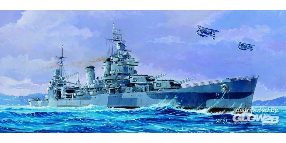 Trumpeter 05747 USS San Francisco CA-38 1944 in 1:700