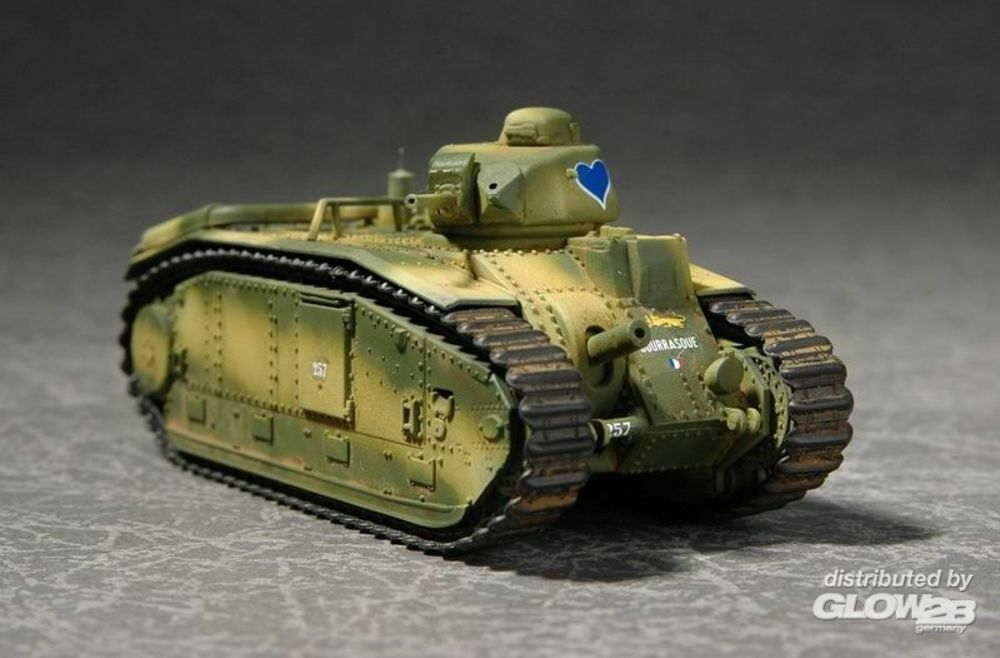 Trumpeter 07263 French Char B1Heavy Tank in 1:72