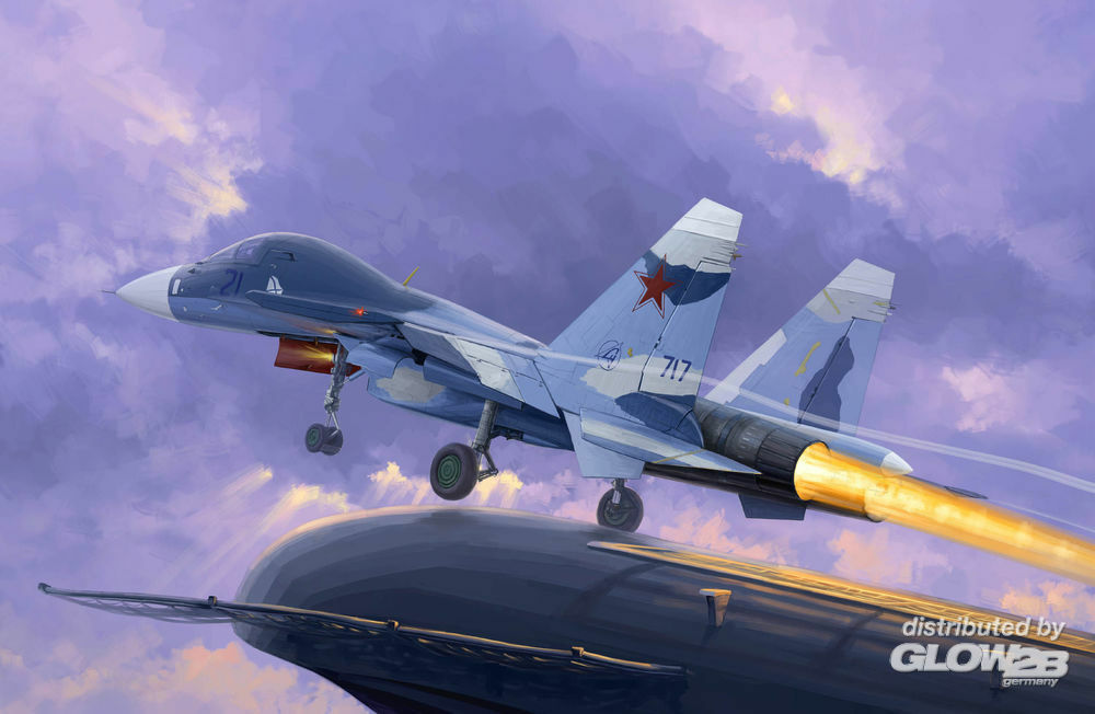 Trumpeter 01669 Russian Su-33UB Flanker D in 1:72