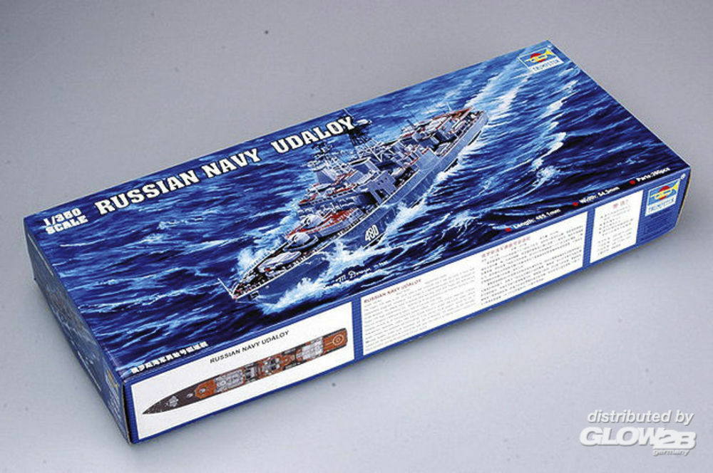 Trumpeter 04517 Russian Navy Udaloy Class Destroyer Severomorsk in 1:350