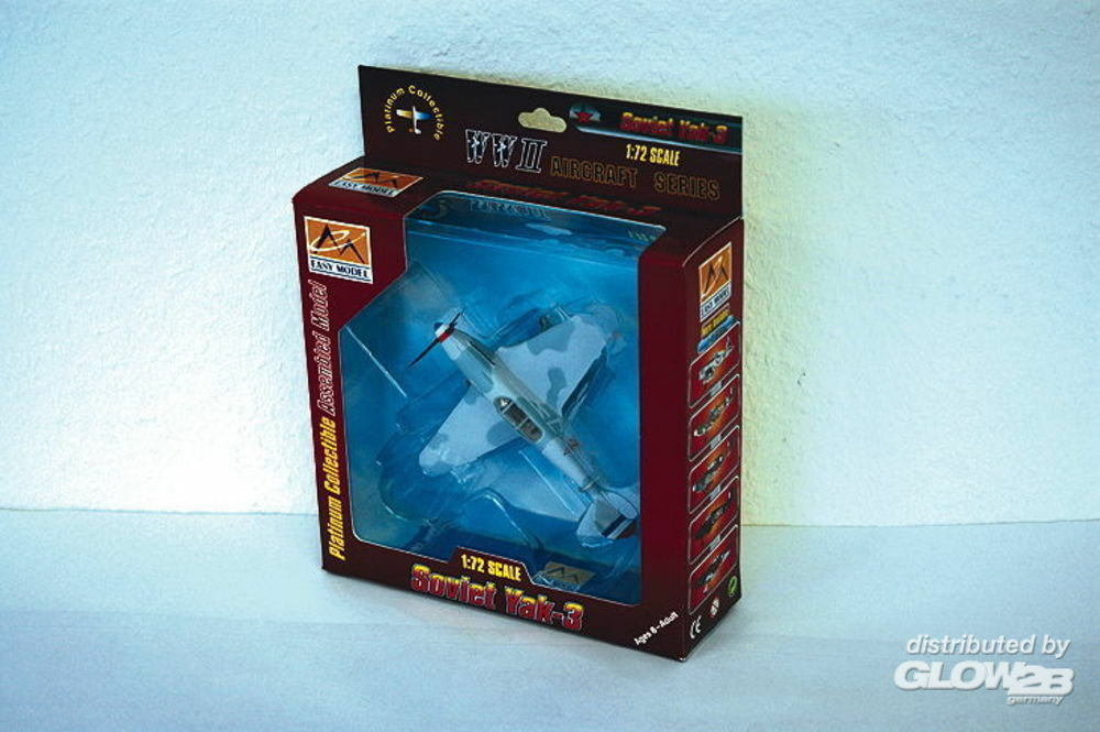 Easy Model 37229 Yak-3 1st Guards Fighter Division 1945 in 1:72