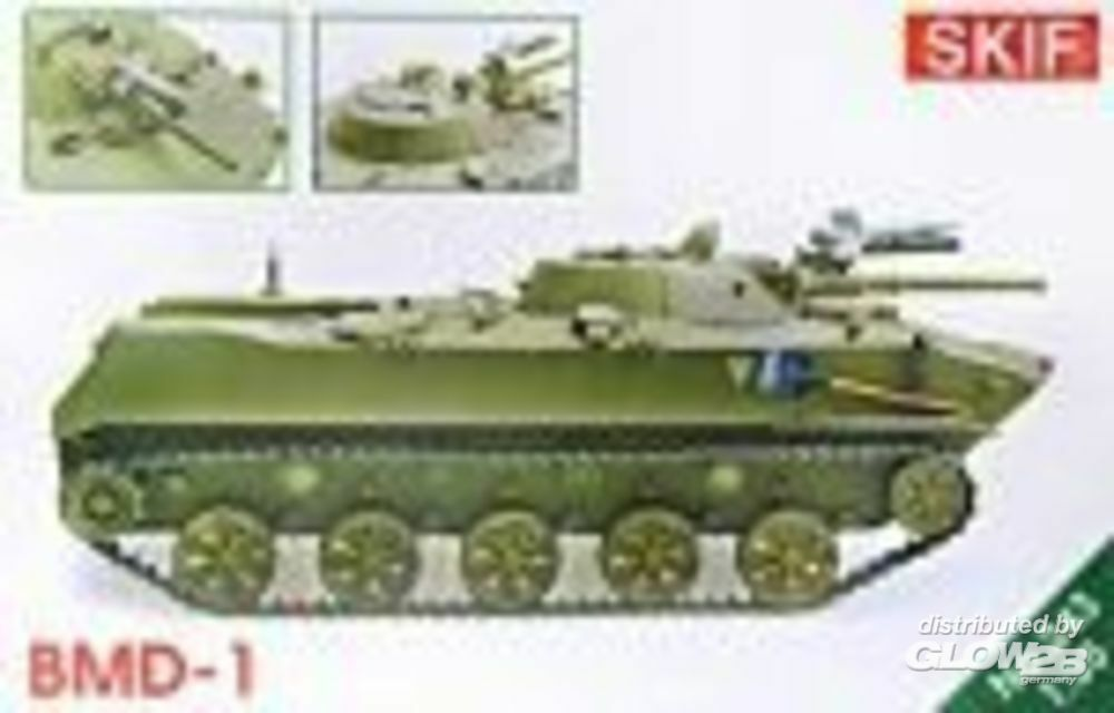 Skif MK243 BMD-1,updated kit (new wheels,weapon) in 1:35
