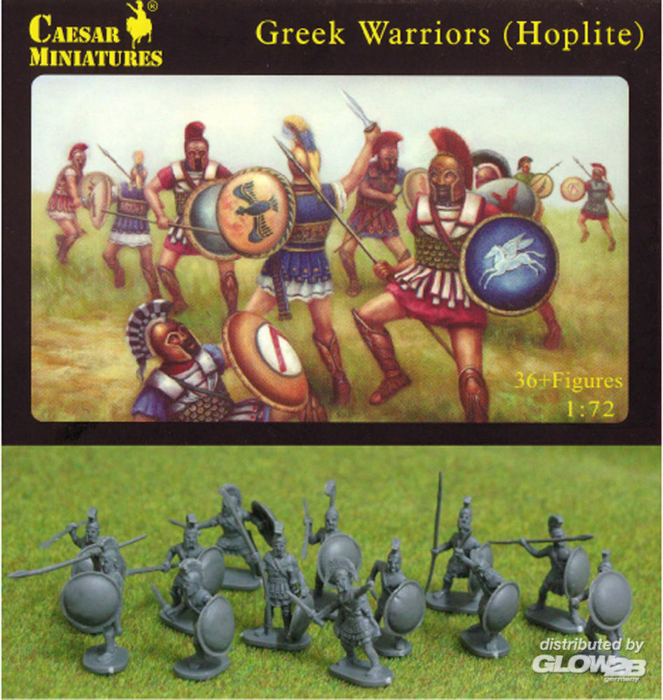 Caesar Miniatures H065 Greek Warriors (Hoplite) in 1:72