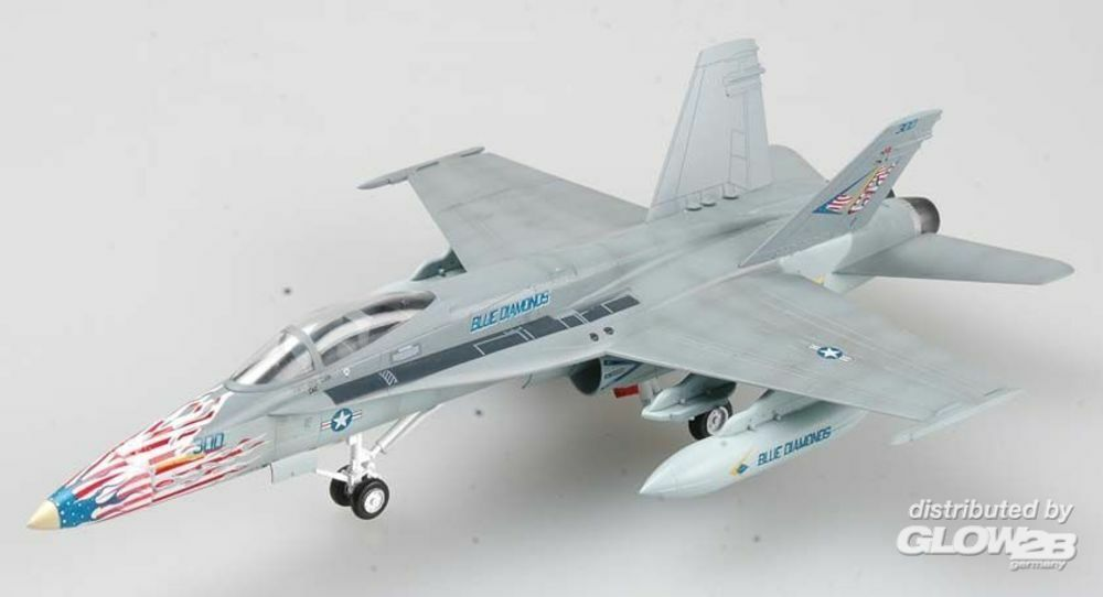 Easy Model 37118 F/A-18C US Navy VFA-146 NG-300 in 1:72