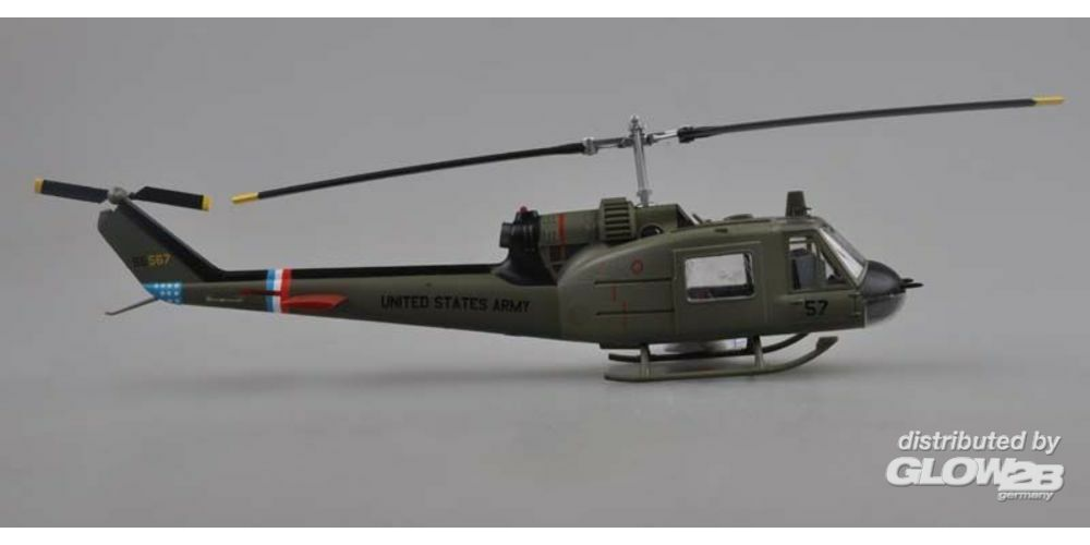 Easy Model 39320 UH-1C 57th Aviation Company Cougars 1970 in 1:48