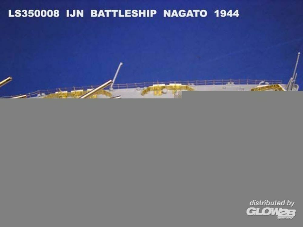 Lion Roar-GreatwallHobby LS350008 IJN Battleship Nagato, 1941 version and Leyte 1944 for Hasagawa in 1:350