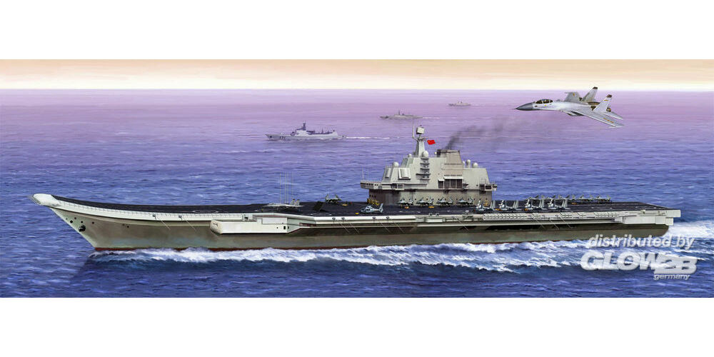 Trumpeter 05617 PLA Navy Aircraft Carrier in 1:350