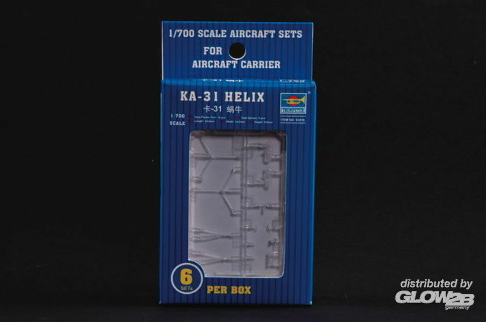 Trumpeter 03416 Kamow Ka-31 Helix -Helicopter in 1:700
