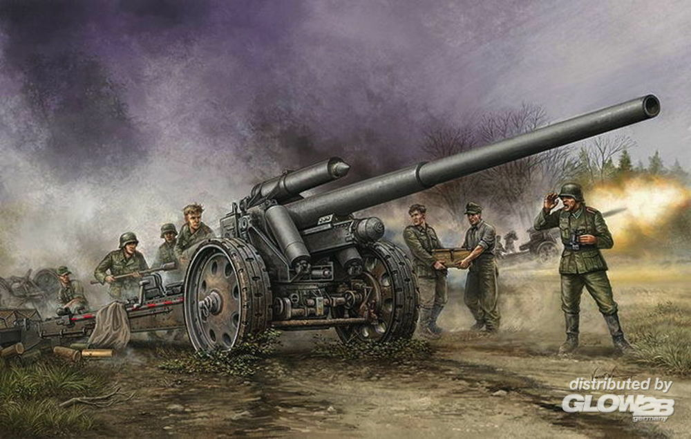 Trumpeter 02305 German s.10cm K.18 Cannon in 1:35
