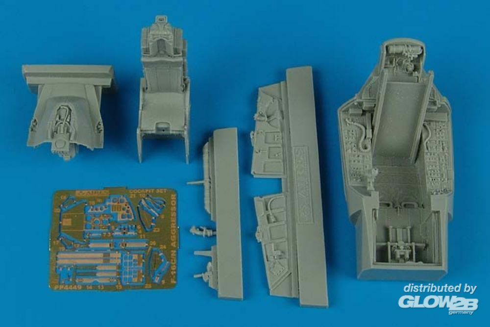 Aires 4449 F-16C/N Aggressor cockpit set for Tamiya in 1:48